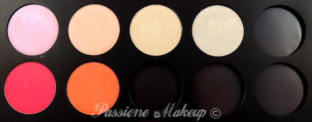 Neve Cosmetics palette personalizzabile