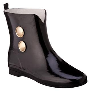 Target's Merona Ziota  Rain Bootie
