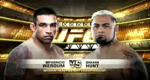 Fabricio Werdum x Mark Hunt - Card Completo