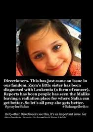 Zayn Maliks Sister Safaa Has Cancer Second Directio...