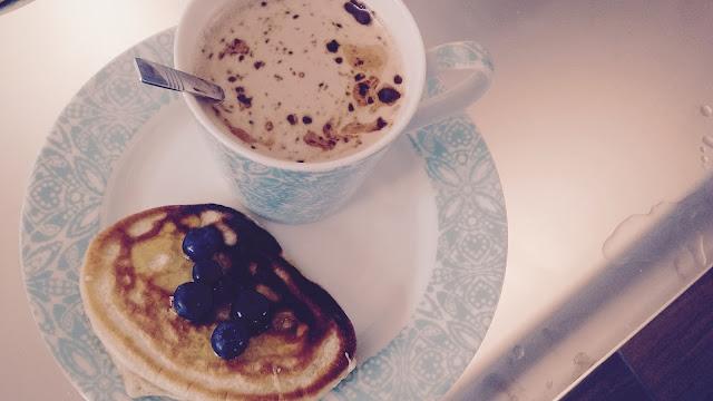 pancakes latte