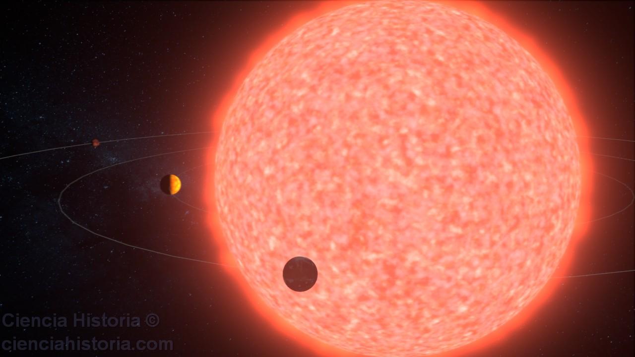 Resultado de imagen de El Sol agotado su combustible nuclear de fusión, se comera Mercurio y Venus