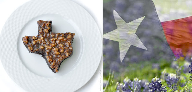 Texas sheetcake flag TEXAS Sheet Cake