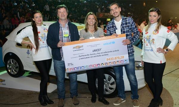 Chevrolet celebra 12 años de apoyo a UNICEF en el desarrollo de la educación y la infancia en la Argentina