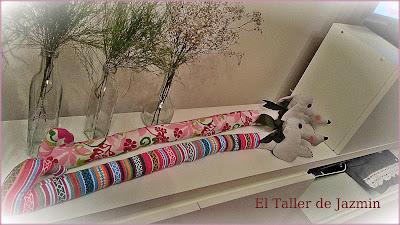 "Burletes para puertas ""Perrito Salchicha""-el taller de jazmin"