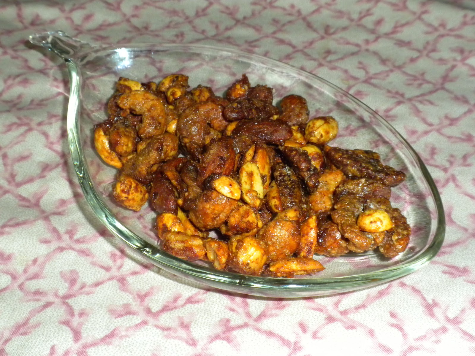 Sweet and Spicy Nuts by Substance of Living