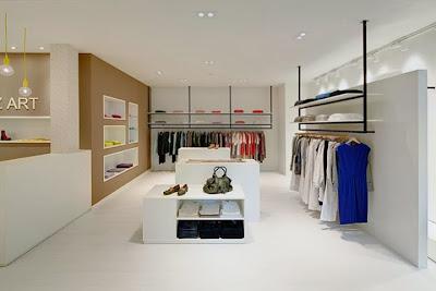 Interior Butik Minimalis 2