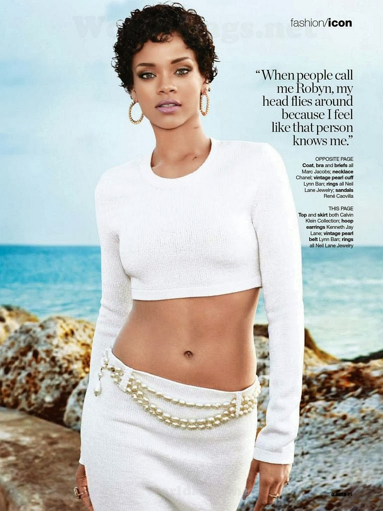 Magazine Photoshoot : Rihanna Photoshoot For Glamour Magazine South Africa February 2014 Issue