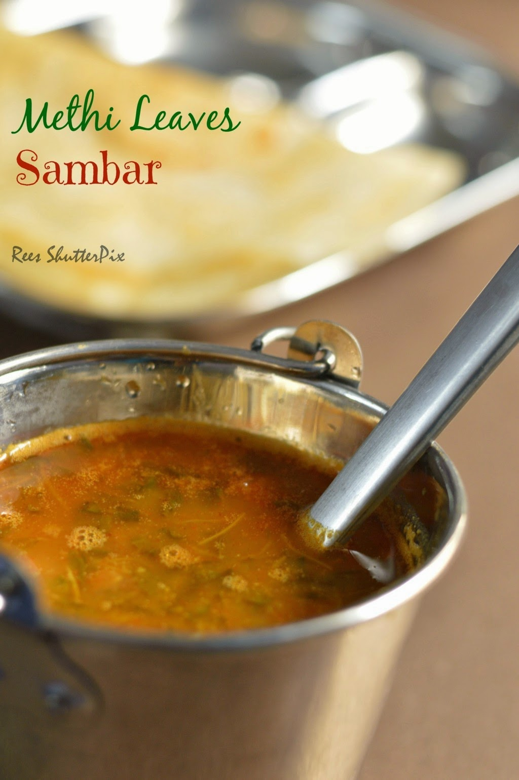Methi Leaves Sambar Vendhaya Keerai Sambar Recipe Delectable