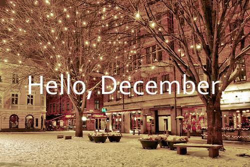 Hello December '12