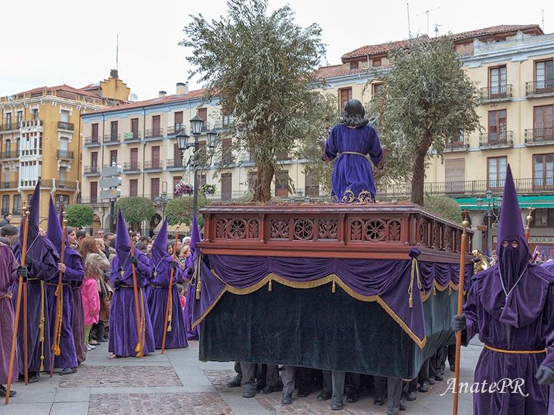 La Oración del Huerto, procesión en Zamora