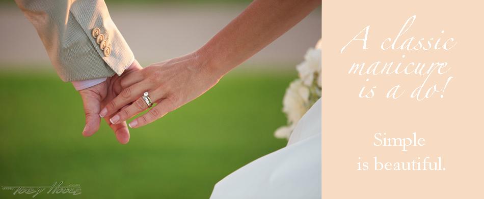 Vintage & Lace Weddings: Wedding Nails: Timeless Ideas