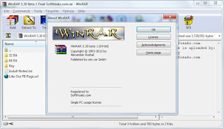 WinRAR 5.30 Beta 1 Full With Key