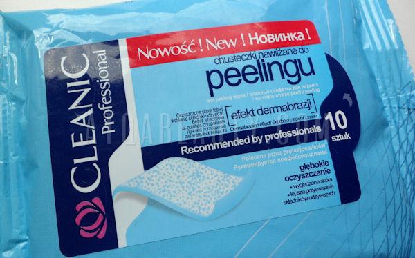Cleanic, Chusteczki nawilżane do peelingu Efekt dermabrazji