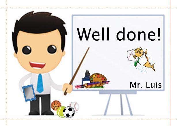 Mr. Luis Lessons