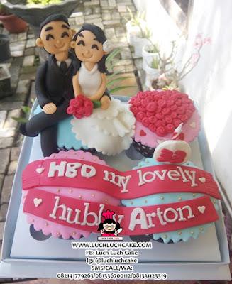 Birthday Cupcake Romantis Daerah Surabaya - Sidoarjo