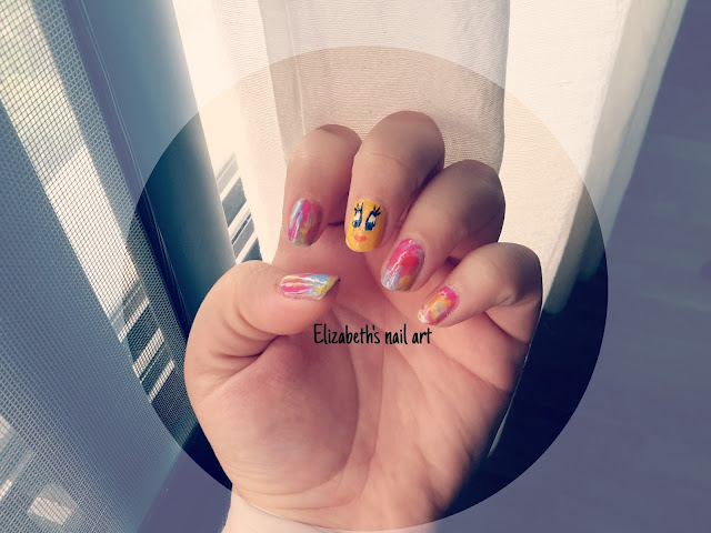 Piolin nail art