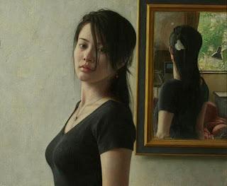 Mujer Retrato al Oleo