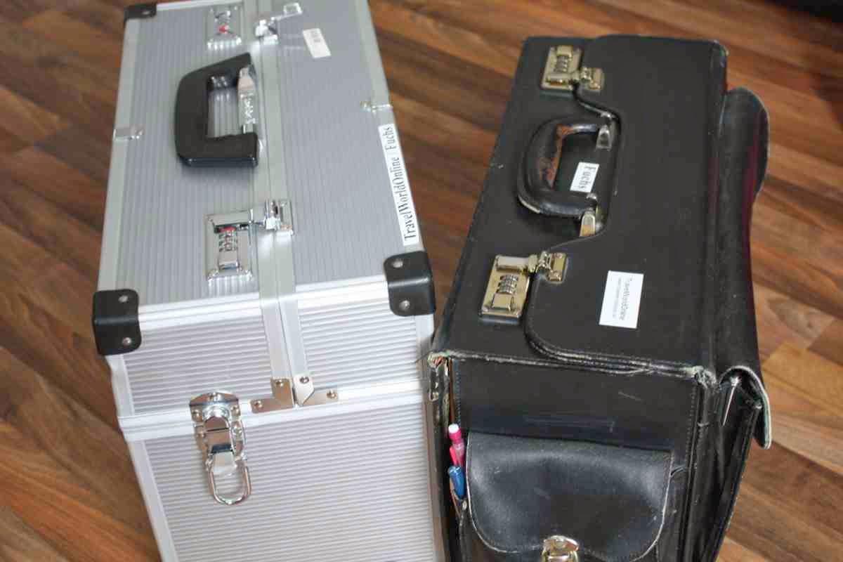Koffer, Trolley oder Rucksack