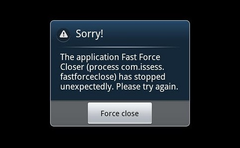 Mengatasi Aplikasi Yang Force Close di Android