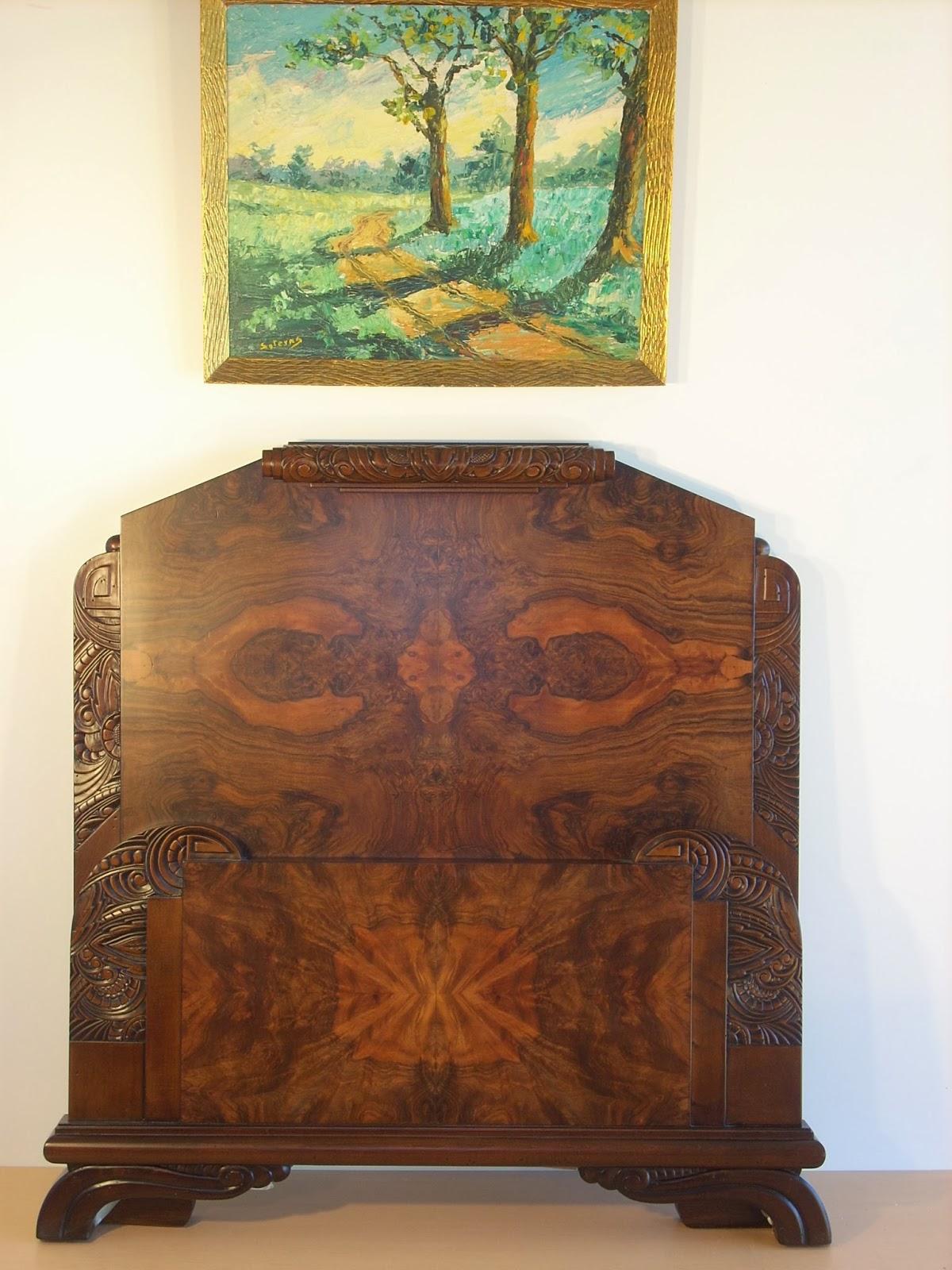 Venta de muebles antiguos restaurados naturmoble cama art - Comprar muebles antiguos ...