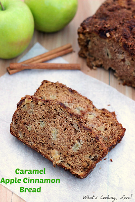 http://whatscookinglove.com/2013/09/caramel-apple-cinnamon-bread/