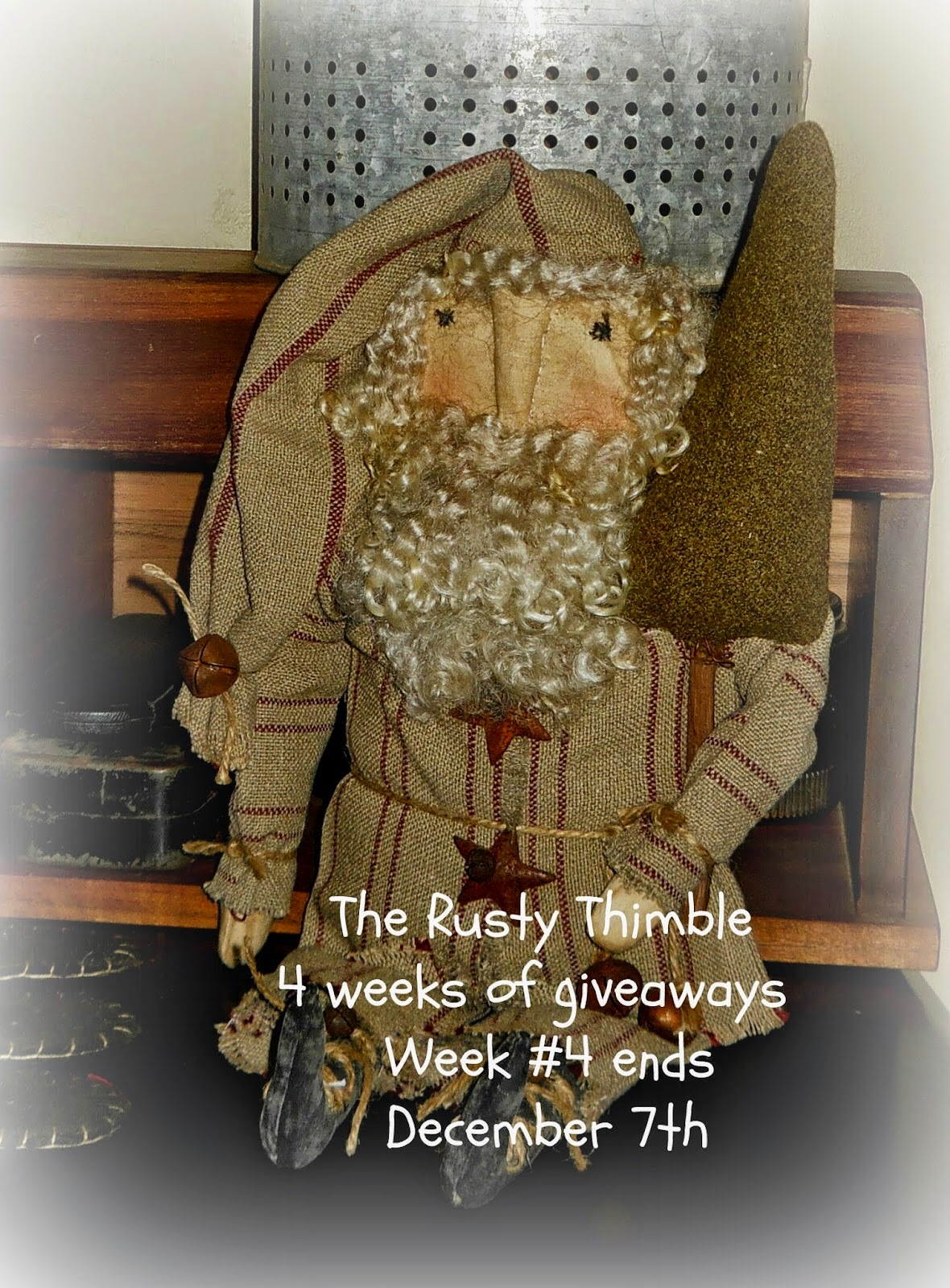 The Rusty Thimble's Giveaway