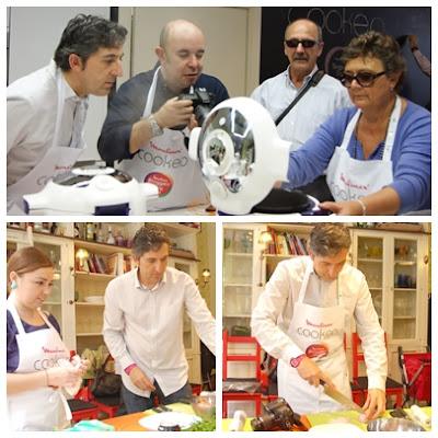 La cocina de aficionado encuentro moulinex bloggers day for Cocinar con cookeo