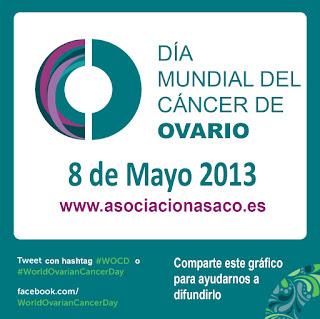 Día mundial del Cáncer de Ovario. Asociación ASACO.