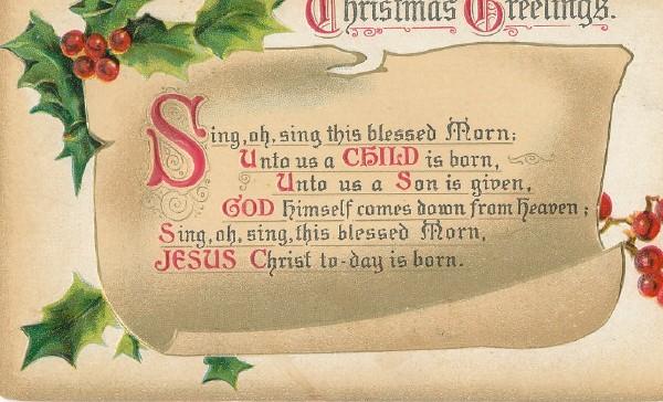 Nothing But Limericks: Christmas Greetings Limerick (Christ Today ...