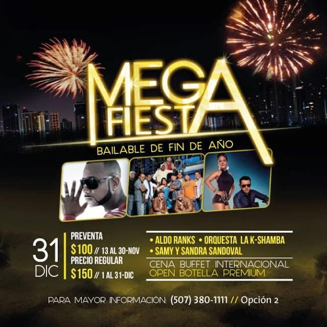 Mega Fiesta - Fin de Año.