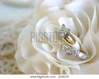 Wedding Ring Background