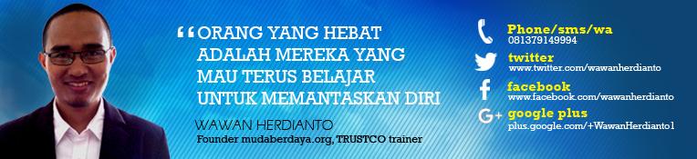 Wawan Herdianto   Motivator, Teaching Life Skills