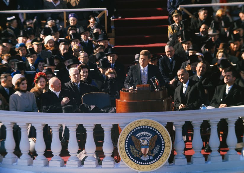 john f kennedys inagural speech John f kennedy was sworn in as the 35th president of the united states on january 20, 1961.