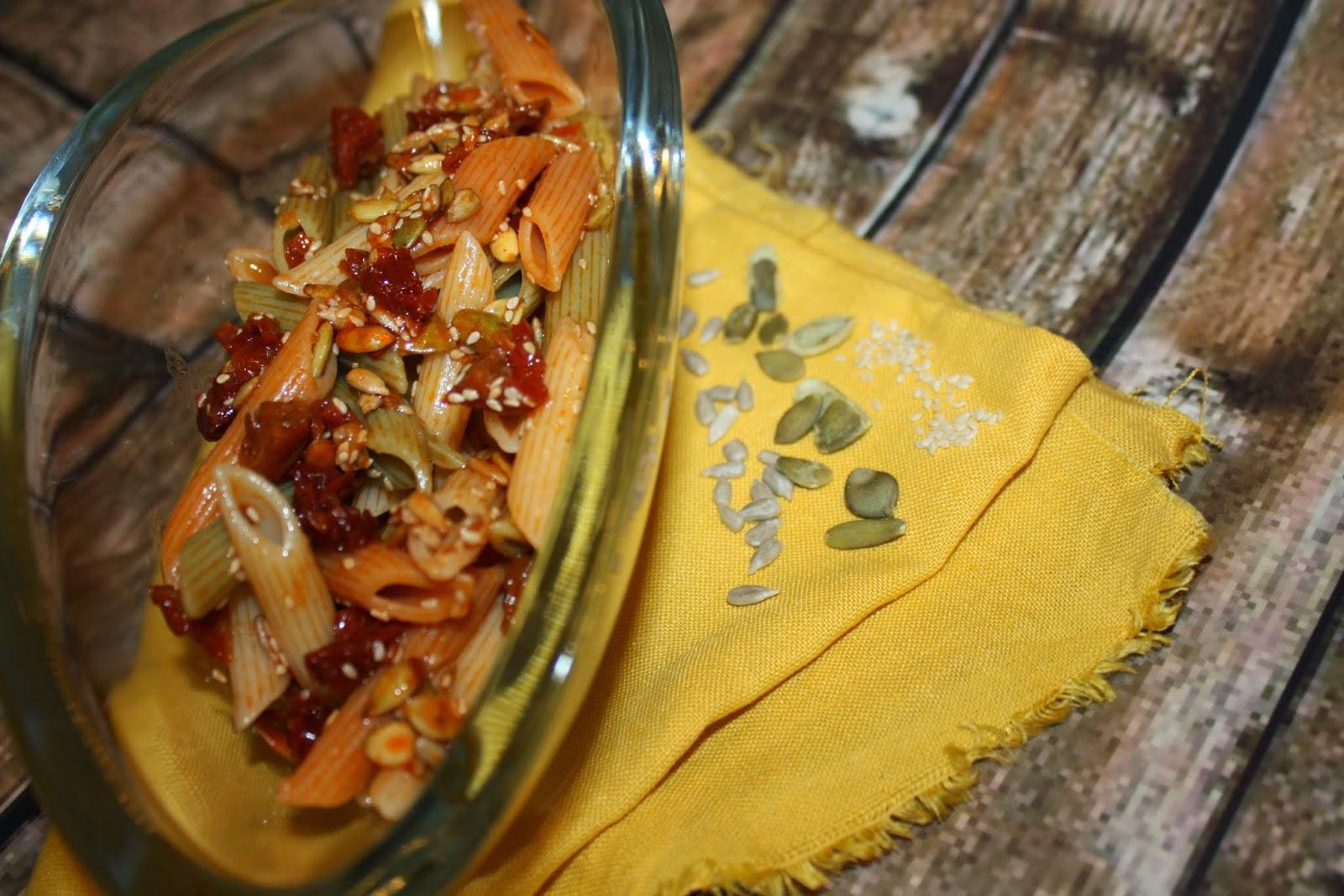 Kuchnia Z Pomysłem Sałatka Z Kolorowego Makaronu Z