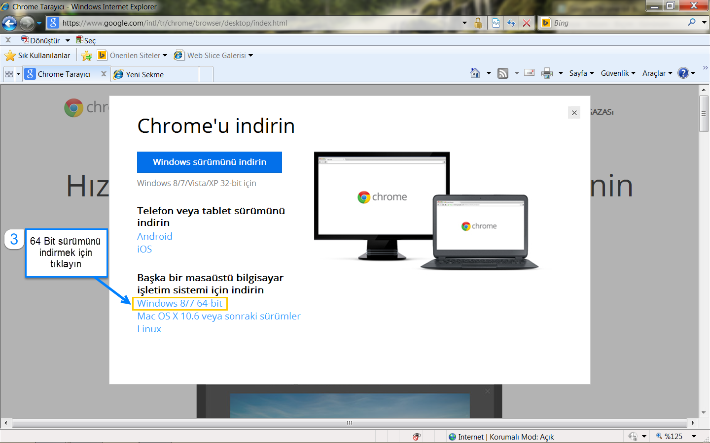 how to tell if chrome is 64 bit