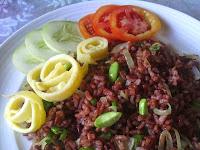Nasi Goreng Beras Merah untuk yang Diet Nasi