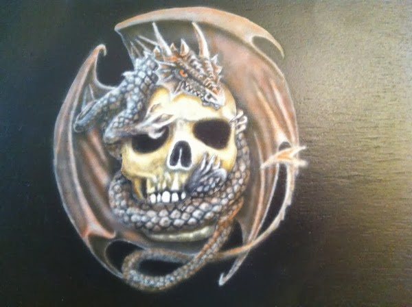 photo5 tuto skull et dragon par bysoairdisign