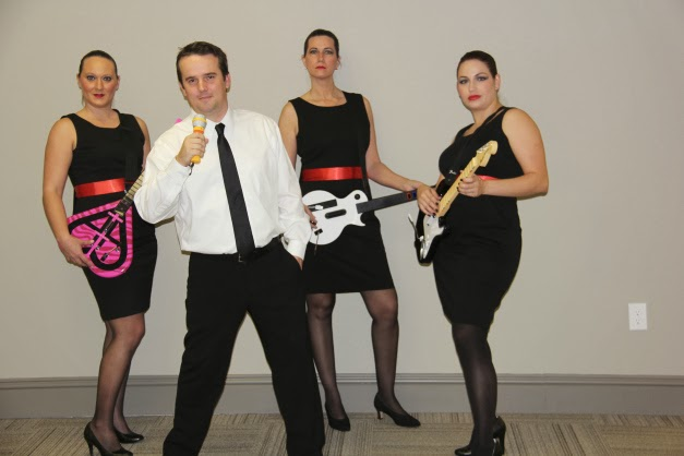Robert Palmer and Girls Costume