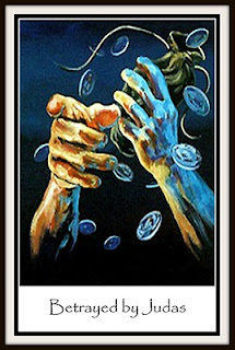 Júdás árulása, elárulja Jézust, nagycsütörtök, harminc ezüst