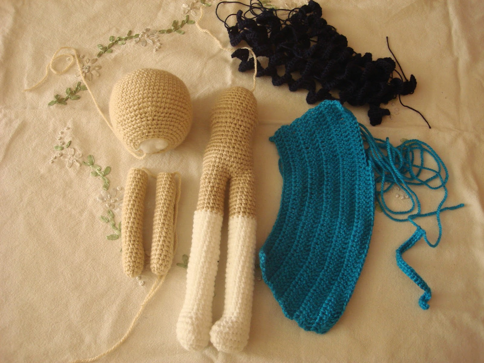 CANAL CROCHET: muñeca a crochet