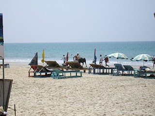 Carvella Beach in Goa