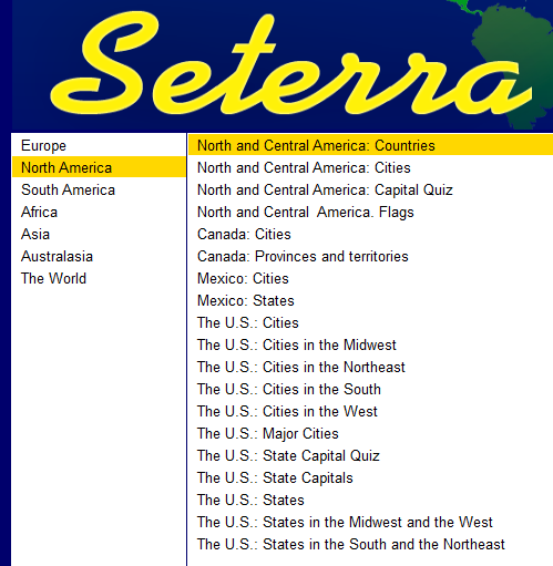 Beautiful Seterra Prompts You With A Country Name: You Need To Find The Country On  The Map. If You Make No Mistake The First Time, Your Country Appears In  White.