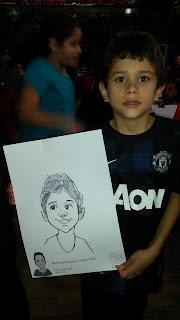 caricatura criança