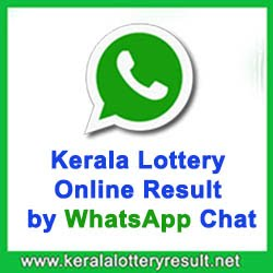 Kerala Lottery Online Result by WhatsApp