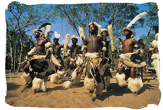 African Tribe Dance Warrior dance