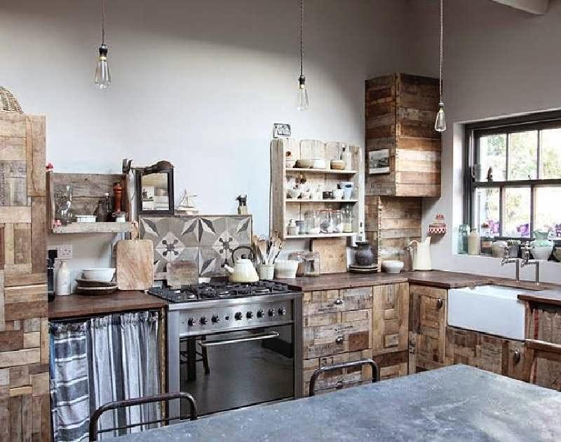 Mueblesdepalets.net: 10 increíbles diseños de cocinas hechas con ...