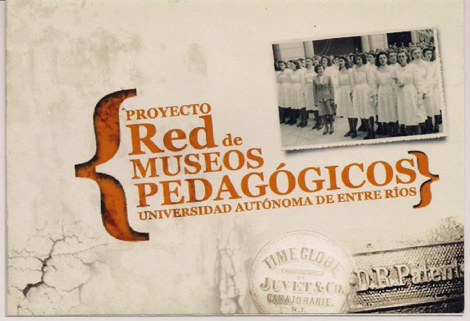 Este Museo es integrante de la Red de Museos Pedagógicos de la UADER