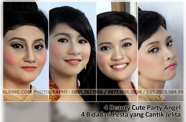 4 Beauty Cute Angel Party | Photo by. KLIKMG.COM Photographer Indonesia - Model Indonesia
