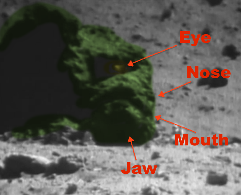 astronauts find structures on moon - photo #20